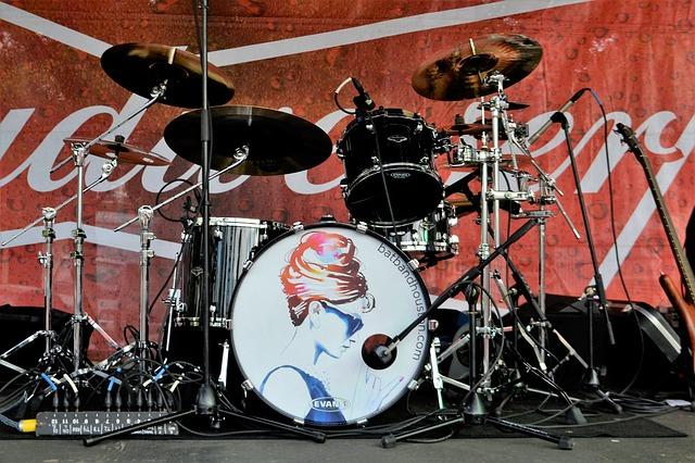 drumstel muziek maken